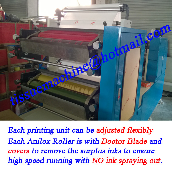 automatic paper napkin machine with packing