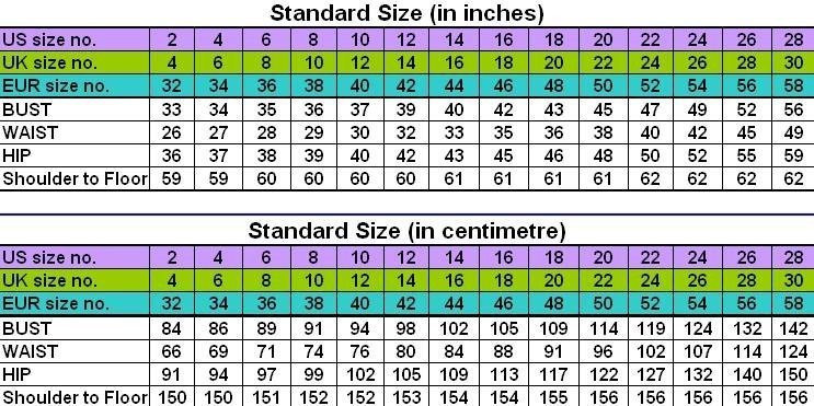 ASOS maternity clothes are cut larger on the bust waist and hips and are designed to fit the following body measurements. Tip: Most often the maternity size which is correct for you will be the same size as you normally wear.