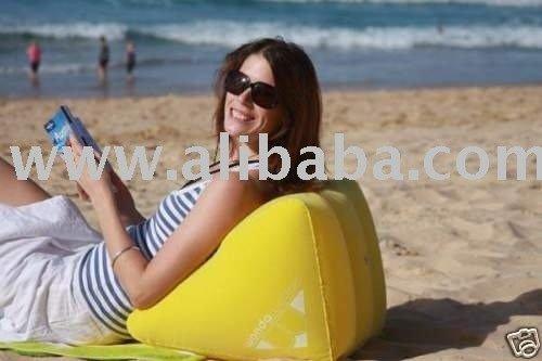 oreiller gonflable de cale de plage coussin gonflable de cale de plage oreiller arri re. Black Bedroom Furniture Sets. Home Design Ideas