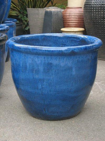 pot de 4 tomber bleu plein air pot pots fleurs. Black Bedroom Furniture Sets. Home Design Ideas