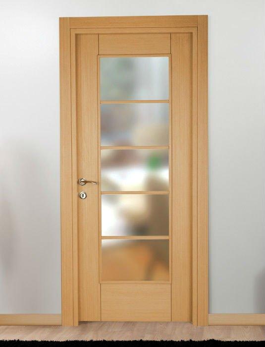 c1va20 porte d interieur vitree en chene d tails demande d pictures to pin on pinterest. Black Bedroom Furniture Sets. Home Design Ideas