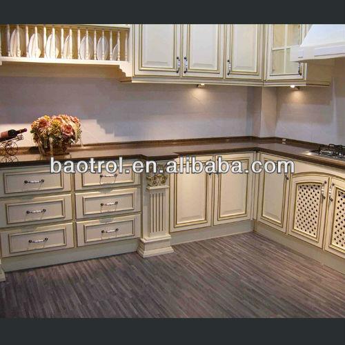 Solid Surface Kitchen Cabinet: çin Ev Mobilya üreticisi HANEX Katı Yüzey Mutfak Kiler