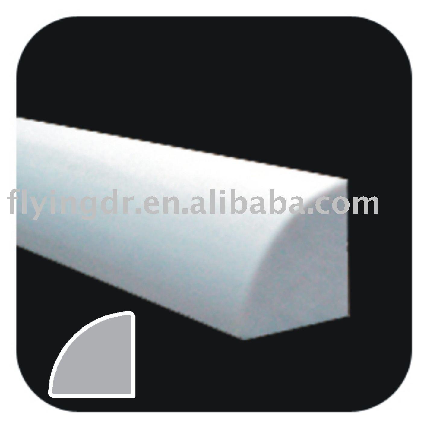 pvc quarts rond pvc profil rev tement moulures id du produit 228548928. Black Bedroom Furniture Sets. Home Design Ideas