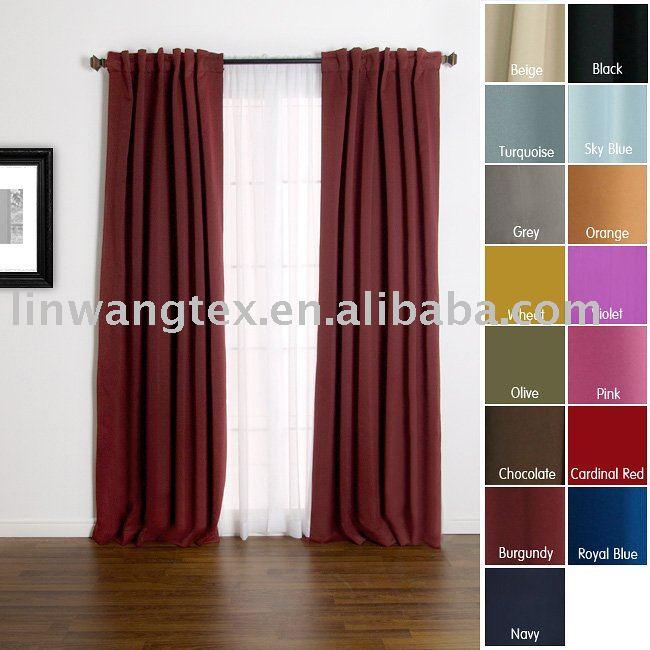 rideau de chambre coucher. Black Bedroom Furniture Sets. Home Design Ideas