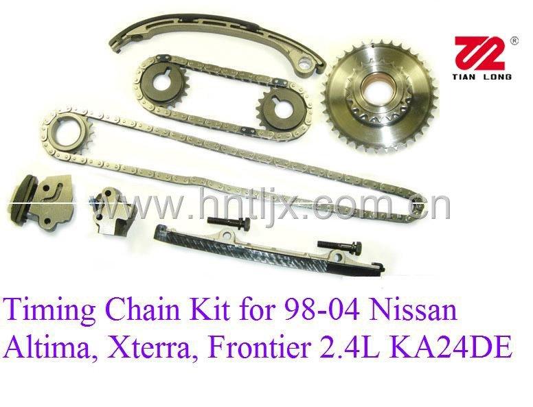 Nissan 2 4 liter ka24e engine timing chain marks