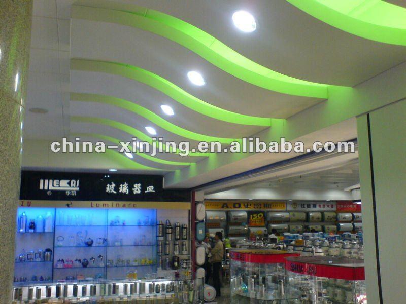 moderne aluminium faux plafond conception mat riaux iso9001 ce 042 tuiles de plafond id. Black Bedroom Furniture Sets. Home Design Ideas