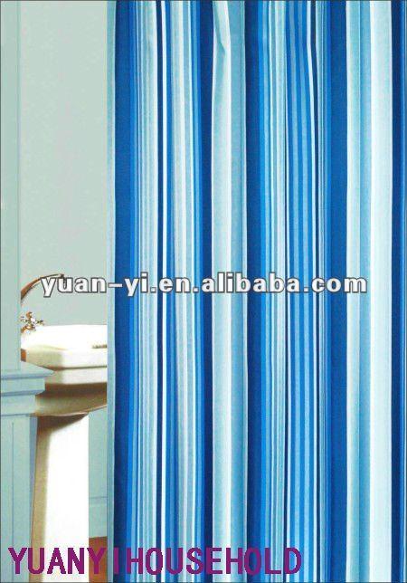 bleu et blanc ray rideau de douche design moderne walmart rideaux de douche rideau de douche. Black Bedroom Furniture Sets. Home Design Ideas