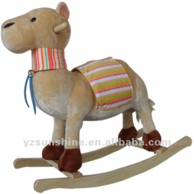 b b en peluche bascule jouet animal chameau animaux en. Black Bedroom Furniture Sets. Home Design Ideas