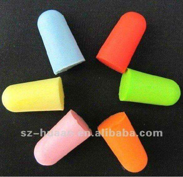 Dormire tappi per le orecchie monouso in silicone anti for Tappi orecchie silicone per dormire