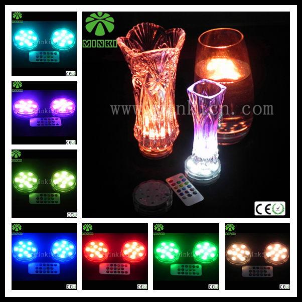 minki muti farbwechsel tauchpumpe batterie ferngesteuerten led leuchten f r vasen andere lampen. Black Bedroom Furniture Sets. Home Design Ideas
