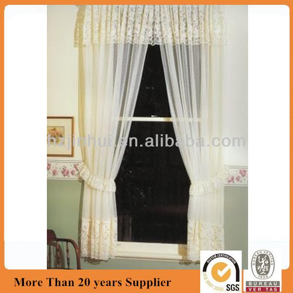 polyester dentelle cantonni re rideau shabby chic style patrimoine vintage rideaux id du produit. Black Bedroom Furniture Sets. Home Design Ideas