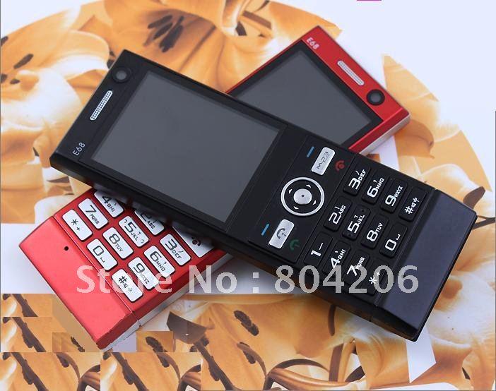 E68  42 2011 practical cheapest Unlocked qual band mobile phone Dual SIM Bluetooth FM
