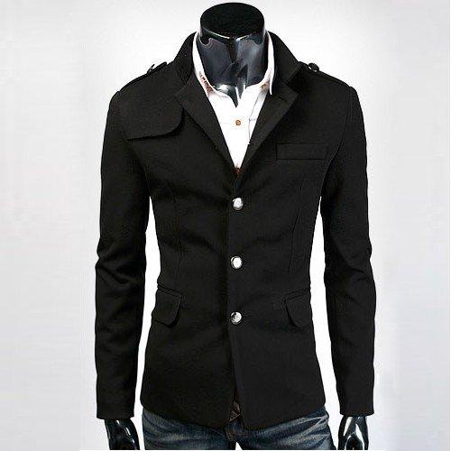 58b79672f Fashion Slim Mens Jackets Mens Outerwear Jackets Mens Coats Jackets High  Collar Jacket #MS151