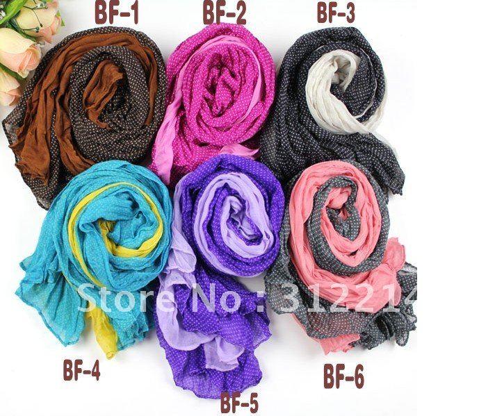 scarf 2012 fashion cotton head crochet scarf for women Head Scarves  Cotton Head Scarves Women